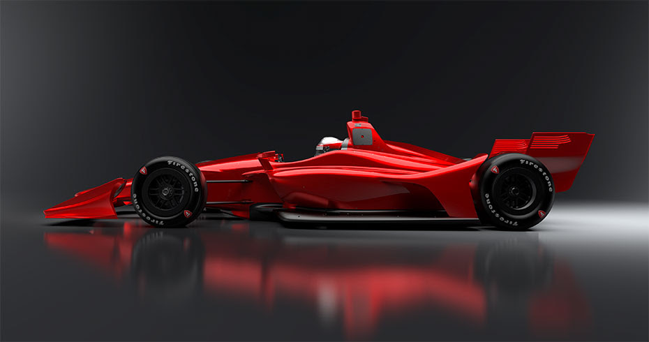 Novo 2018 Aero Kit Conceito Rendering