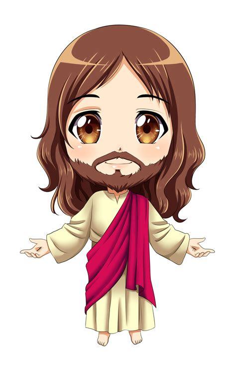 jesus chibi commission  karis coba  deviantart