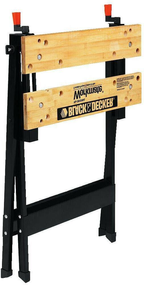 Folding Workbench Vise Work Bench Sawhorse Portable Table