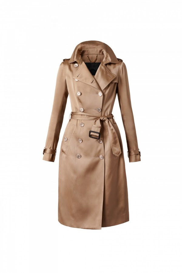 4 - Burberry Body Rose Gold Trench Coat