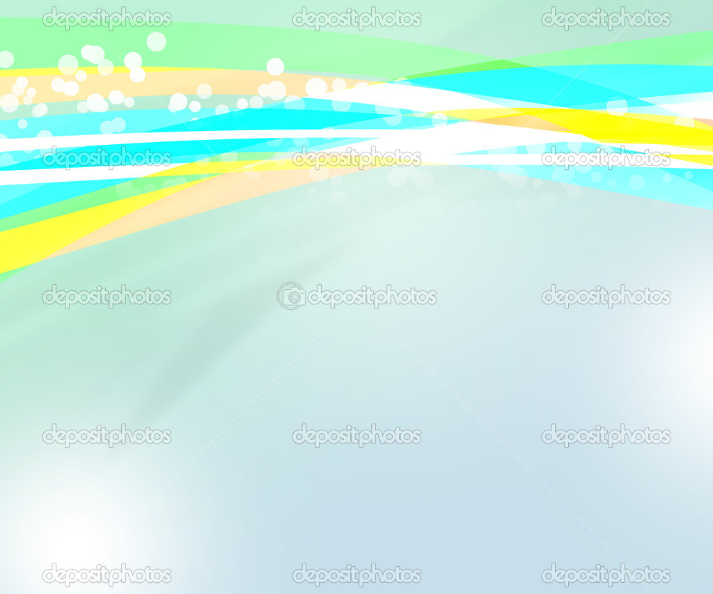 Nice Blue Abstract Background — Stock Photo ...