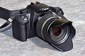 The Canon EOS 350D