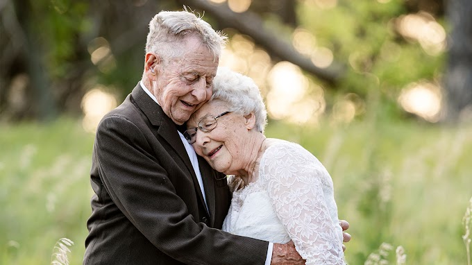 TREND ESSENCE: Nebraska couple celebrates 60 years of marriage with photo shoot in wedding outfits