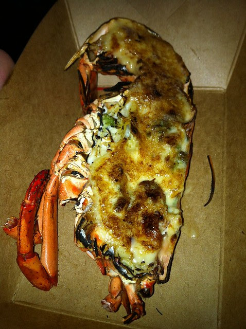 Lobster from Seafood Kingdom