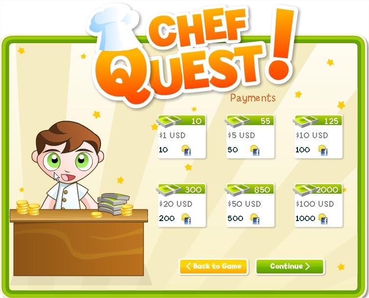 Como jogar Chef Quest do Facebook (Foto: Reprodução)