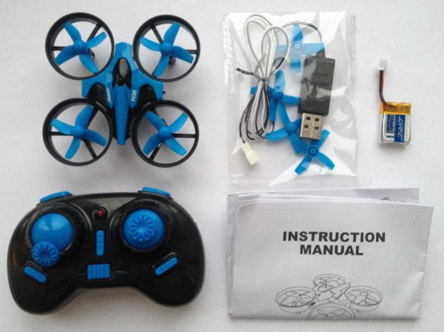 JJRC H36 Mini Rc Quadcopter Unboxing