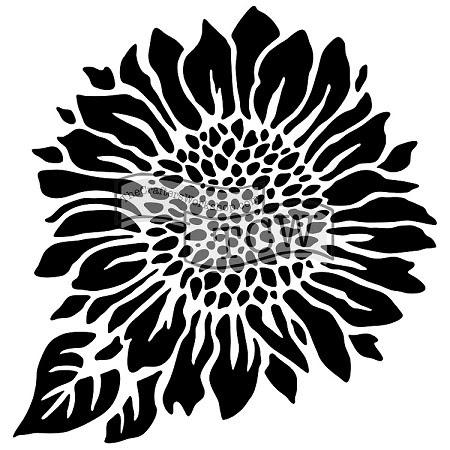 """Download The Crafter's Workshop 12""""x12"""" Stencil - Joyful Sunflower"""