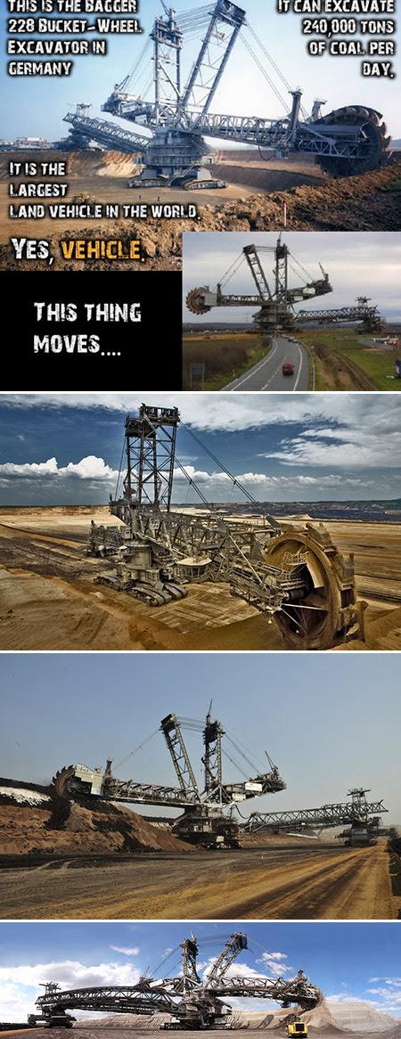 Another Look At The World S Biggest Excavator Techeblog