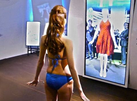 Nuevo sistema te permite probar prendas virtuales totalmente interactivas