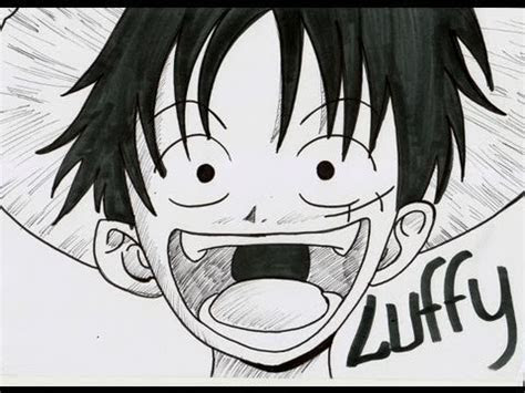 draw luffy  youtube