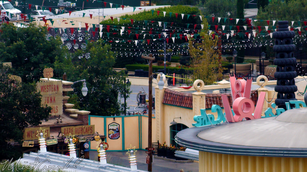 Disneyland Resort, Disney California Adventure, Cars Land, Paradise, Pier, Mickey, Fun, Wheel, Luigi, Flying, Tire, Refurbishment, Refurbish, Refurb