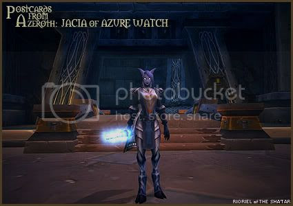 Postcards of Azeroth: Jacia of Azure Watch, by Rioriel Ail'thera