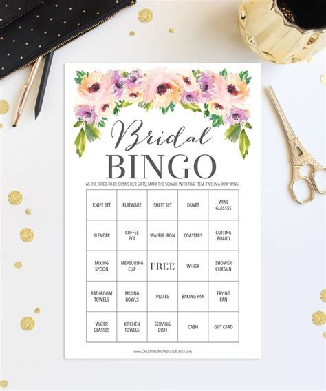 Pin by Creative Union Design on Bridal Shower Games