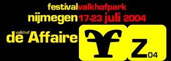 Logo Valkhofaffaire 2004