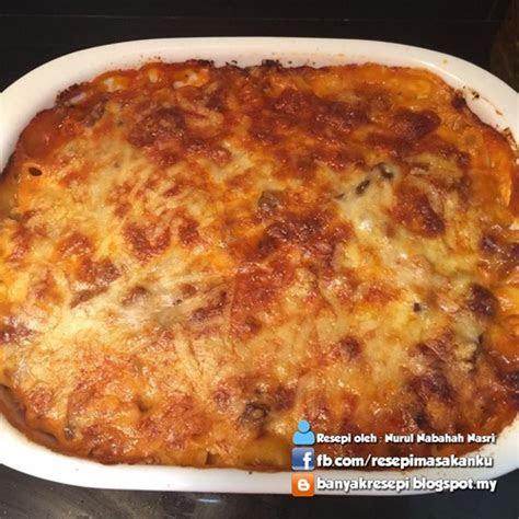resepi makaroni keju bakar sbs aneka resepi masakan