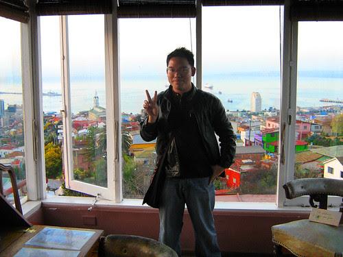 At the top floor of La Sebastiana