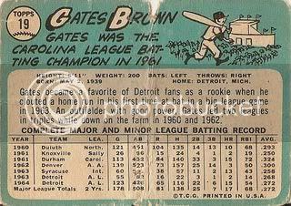 #19 Gates Brown (back)