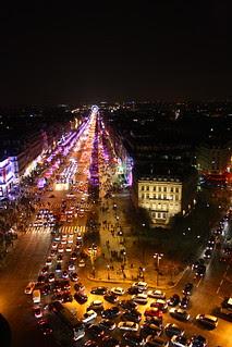 Avenue des Champs Élysées, Paris, France