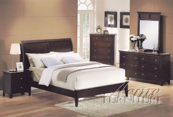 Soho Master Bedroom Set, Acme Furniture 07504 SET The Classy Home