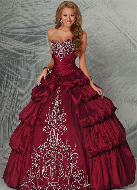 Aliexpress.com : Buy New Ball Gown Long Embroidery