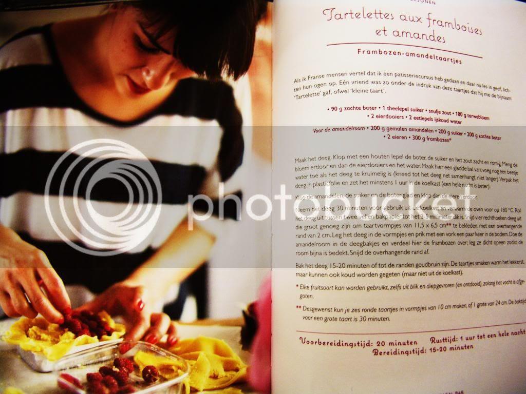 Tartelletes aux framboises et amandes ... Frambozen - Amandeltaartjes ... From Rachel Khoo's, Chez Rachel  #Cooking #Food #Cookbook #Haute Cookure #Musthave #Paris #Wishlist