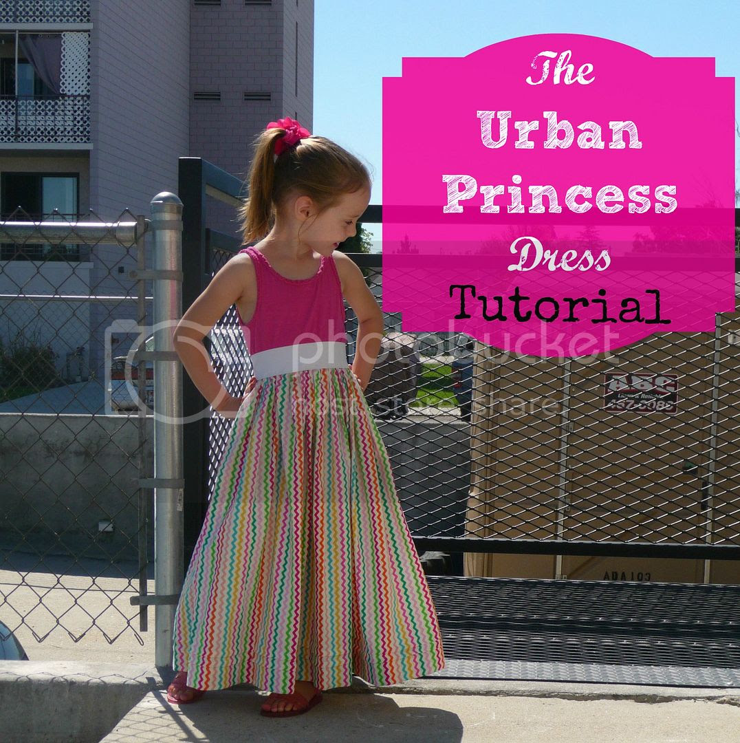 the urban princess dress sewing tutorial diy