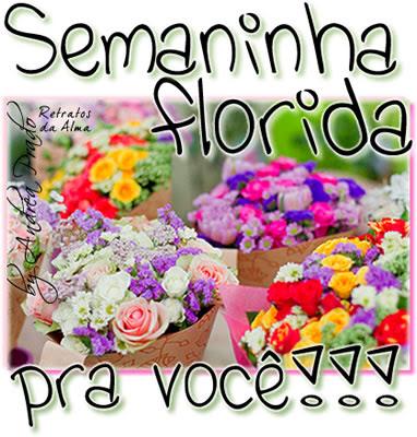 Semaninha Florida Pra Você Imagens Para Facebook E Blogs