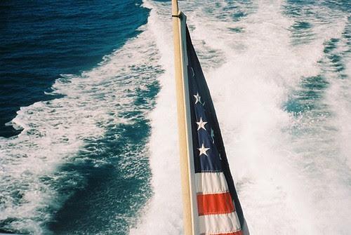 boat flag.