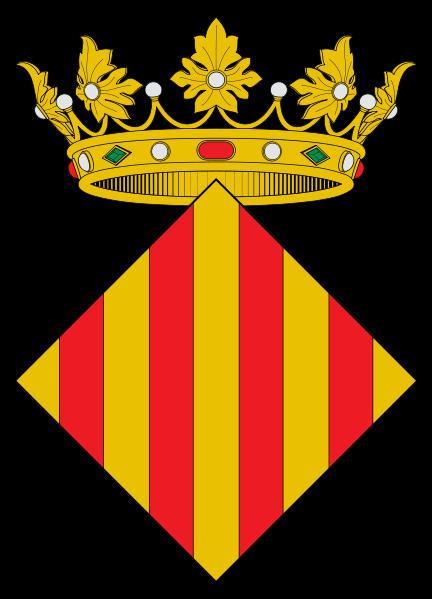 File:Escut de la Ciutat e Regne de València.svg