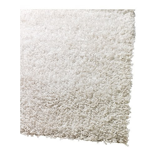 HAMPEN Tapete pêlo comprido, branco Comprimento: 195 cm Largura: 133 cm Cobertura pêlo: 1170 gr/m² Espessura do pêlo: 30 mm Comprimento máx. pêlo: 30 mm