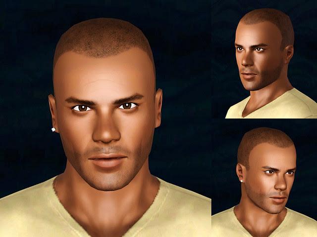 Shemar Moore -  Sim Closeups
