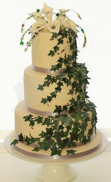 17 Best ideas about Beaded Wedding Cake on Pinterest