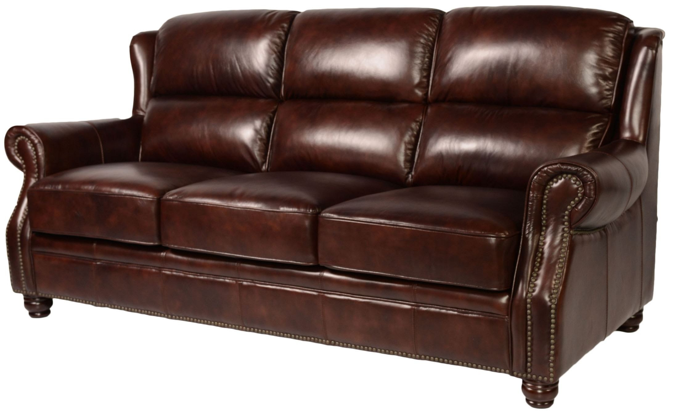 Appalachian Rustic Savauge Leather Living Room Set from ...