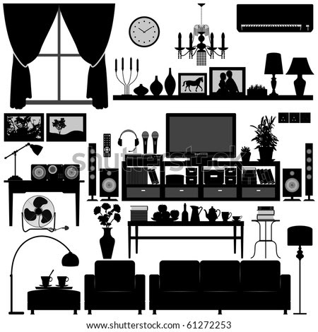 stock-vector-living-