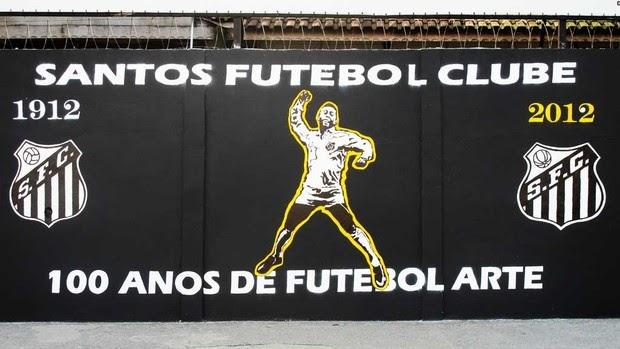 e628c6aae1 Melhor De Santos  O Muro 100 anos de futebol arte