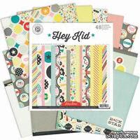 Набор бумаги от Pink Paislee - Hey Kid Paper Pad - ScrapUA.com