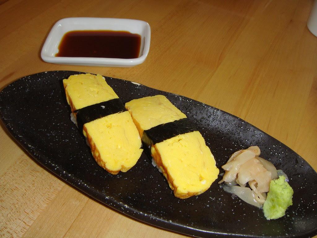 Egg Nigiri Sushi