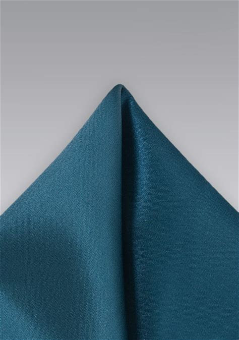 Elegant Teal Colored Pocket Square   Bows N Ties.com