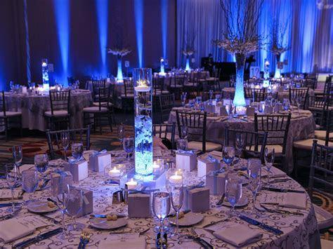 Wedding reception at Hilton Orlando. Linens, place