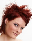 red short hair - John Beerens