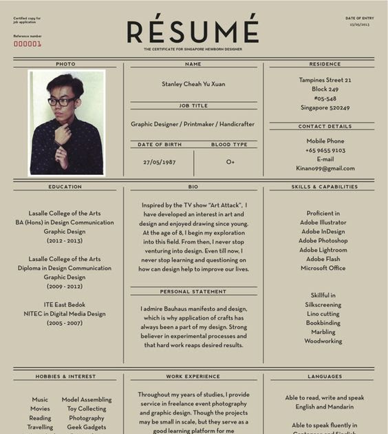 Try A Creative Resume To Stand Out In The Resume Crowd