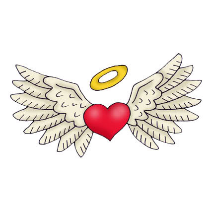 Angel Wings And Halo Tattoos Angel Tattoo Designs Clip Art Library