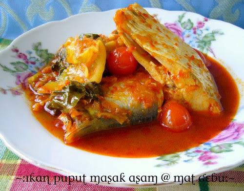 ikan puput masak asam
