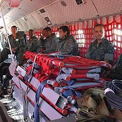 Grupo do Esquadrão Pelicano da Base Aérea de Campo Grande vão à Fernando de Noronha