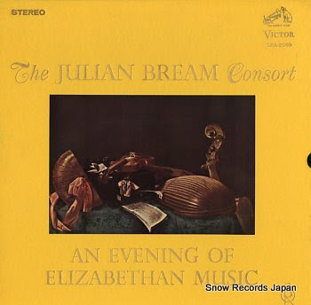 BREAM, JULIAN evening of elizabethan music, an