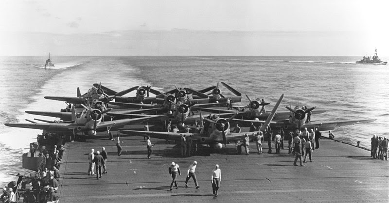 File:TBDs on USS Enterprise (CV-6) during Battle of Midway.jpg