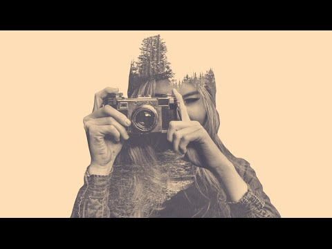 How to add Double Exposure Effect in Photoshop Video Tutorial