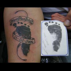 Footprint Tattoo Meanings Itattoodesignscom