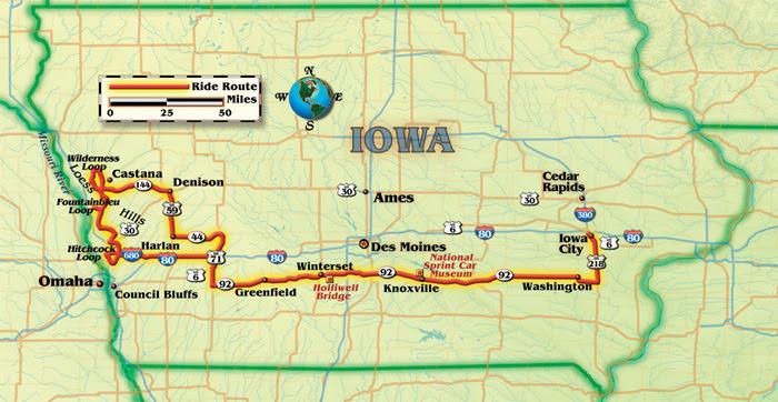 iowa scenic byways map Iowa Scenic Byways Map Catwalkwords iowa scenic byways map