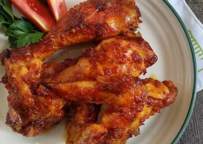 Resep Mudah Ayam Bakar Bumbu Rujak Yang Enak